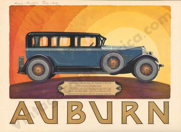 1927 Auburn Advertisement #21