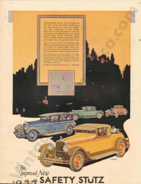 1927 Stutz Advertisement #1