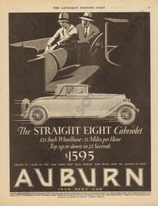 1927 Auburn Advertisement #24