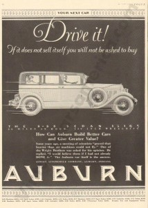 1927 Auburn Advertisement #29
