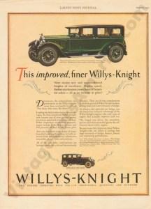 1927 Overland Advertisement #3
