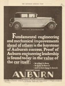 1928 Auburn Advertisement #11