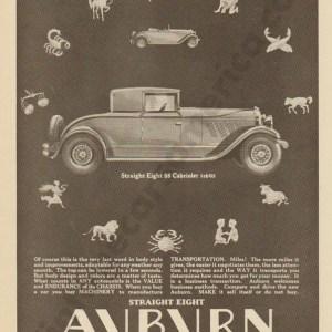 1928 Auburn Advertisement #15