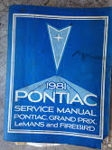 1981 Pontiac Shop Manual
