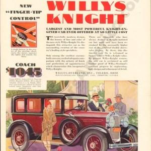 1929 Overland Advertisement #1