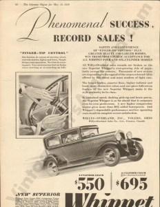 1929 Overland Advertisement #3