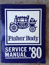 1980 Fisher Body Shop Manual