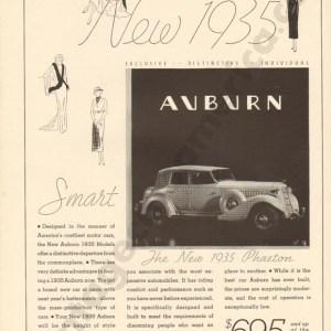 1935 Auburn Advertisement #2