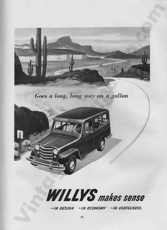 1951 Overland Advertisement