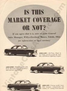 1952 Overland Advertisement