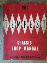 1962 Pontiac Tempest Shop Manual