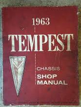 1963 Pontiac Tempest Shop Manual