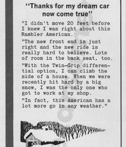 1964 Rambler Advertisement #1