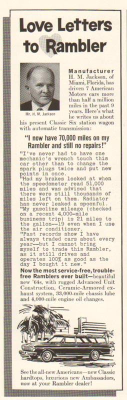 1965 Rambler Advertisement #2