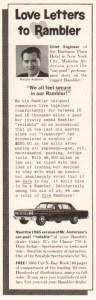 1965 Rambler Advertisement #4