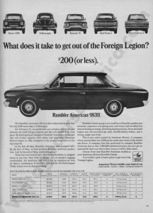 1967 American Motors Advertisement #5