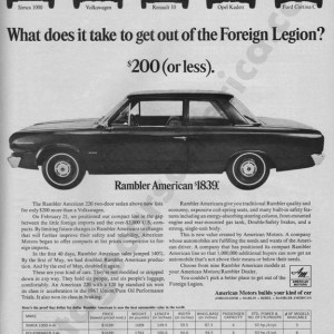 1967 American Motors Advertisement #5