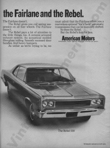 1968 American Motors Advertisement #4