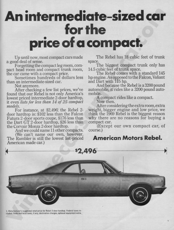 1969 American Motors Advertisement #2