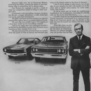1970 American Motors Advertisement #1