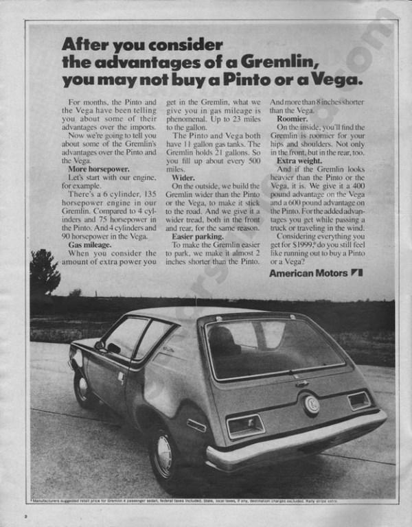 1971 American Motors Advertisement #3