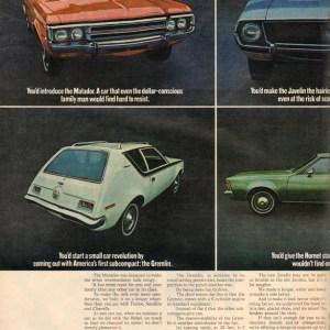 1971 American Motors Advertisement #6