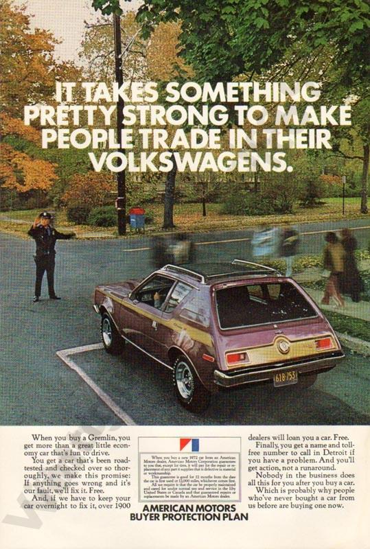 1972 American Motors Advertisement #1