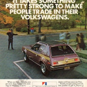 1972 American Motors Advertisement #1