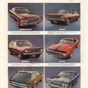 1972 American Motors Advertisement #2