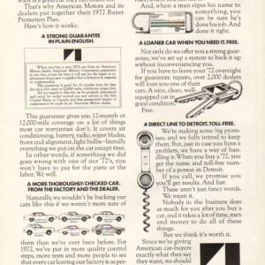 1972 American Motors Advertisement #5