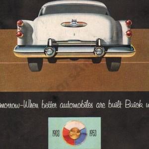 1953 Buick Brochure