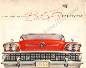 1958 Buick Brochure