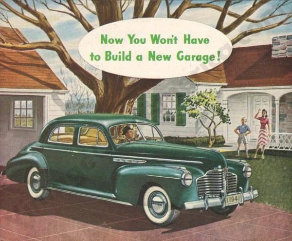 1941 Buick Foldout