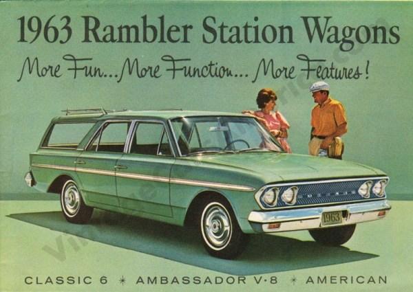 1963 Rambler Wagons Foldout