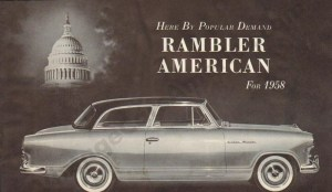 1958 Rambler American Brochure
