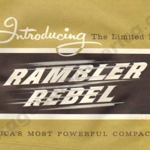 1957 Rambler Rebel Brochure