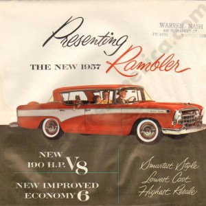 1957 Rambler Brochure