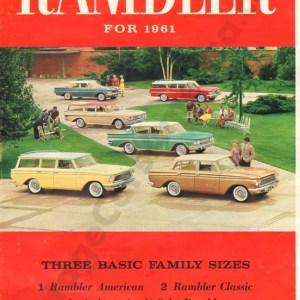 1961 Rambler Brochure