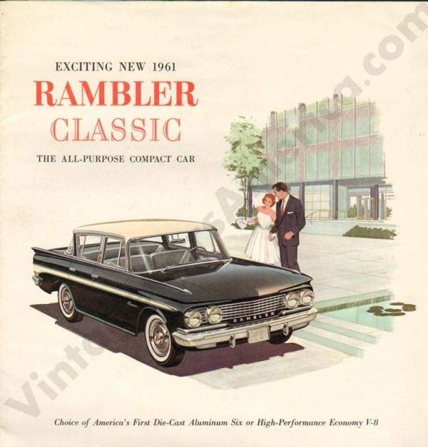 1961 Rambler Classic Brochure