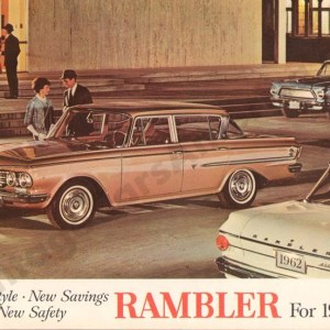 1962 Rambler Brochure