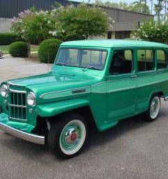 1953 willys jeep station wagon [ 2048 x 1536 Pixel ]