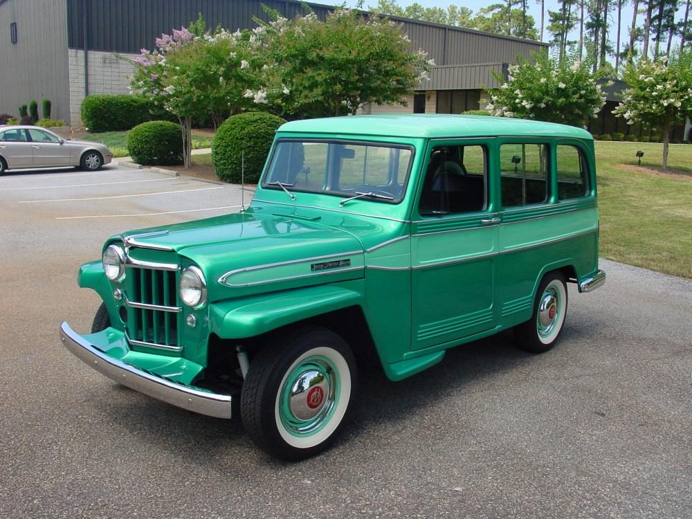 medium resolution of 1953 willys jeep station wagon