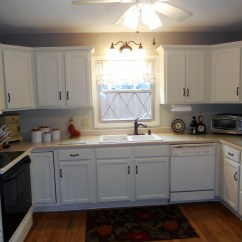 Antique White Kitchen Cabinets Best Paint Painted After Jan 2016 01