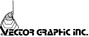 Vector Graphic Inc Pricelist 1979