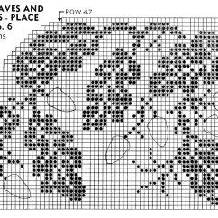Free Leaf Crochet Pattern Diagram 2004 Jeep Grand Cherokee Power Window Wiring Vintage Oak Leaves And Acorns Place Mat