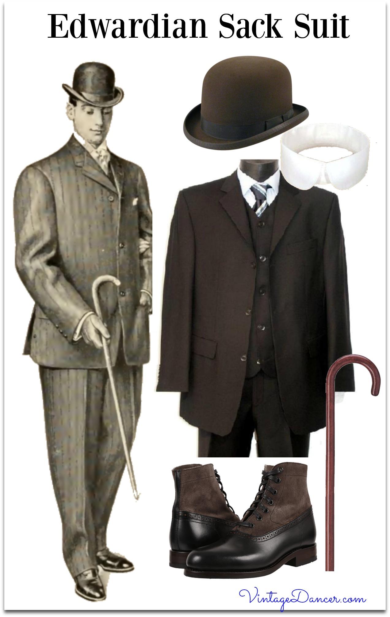 1900s edwardian mens clothing
