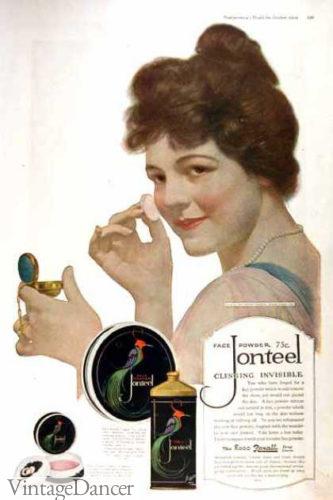 1900 1910 Edwardian Makeup And Beauty