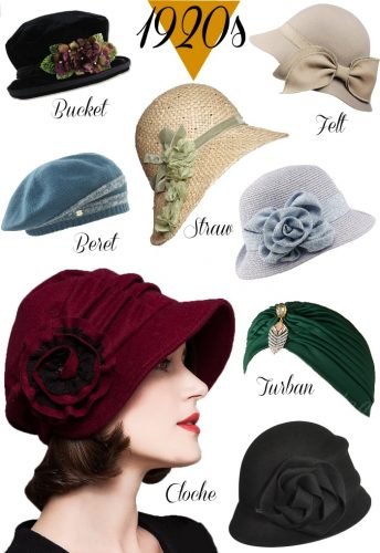 How To Make A Cloche Hat : cloche, 1920s, Styles, Women, History, Beyond, Cloche