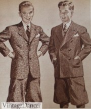 1940s teenage fashion boys