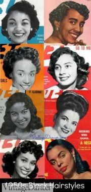 1950s hairstyles - 50s